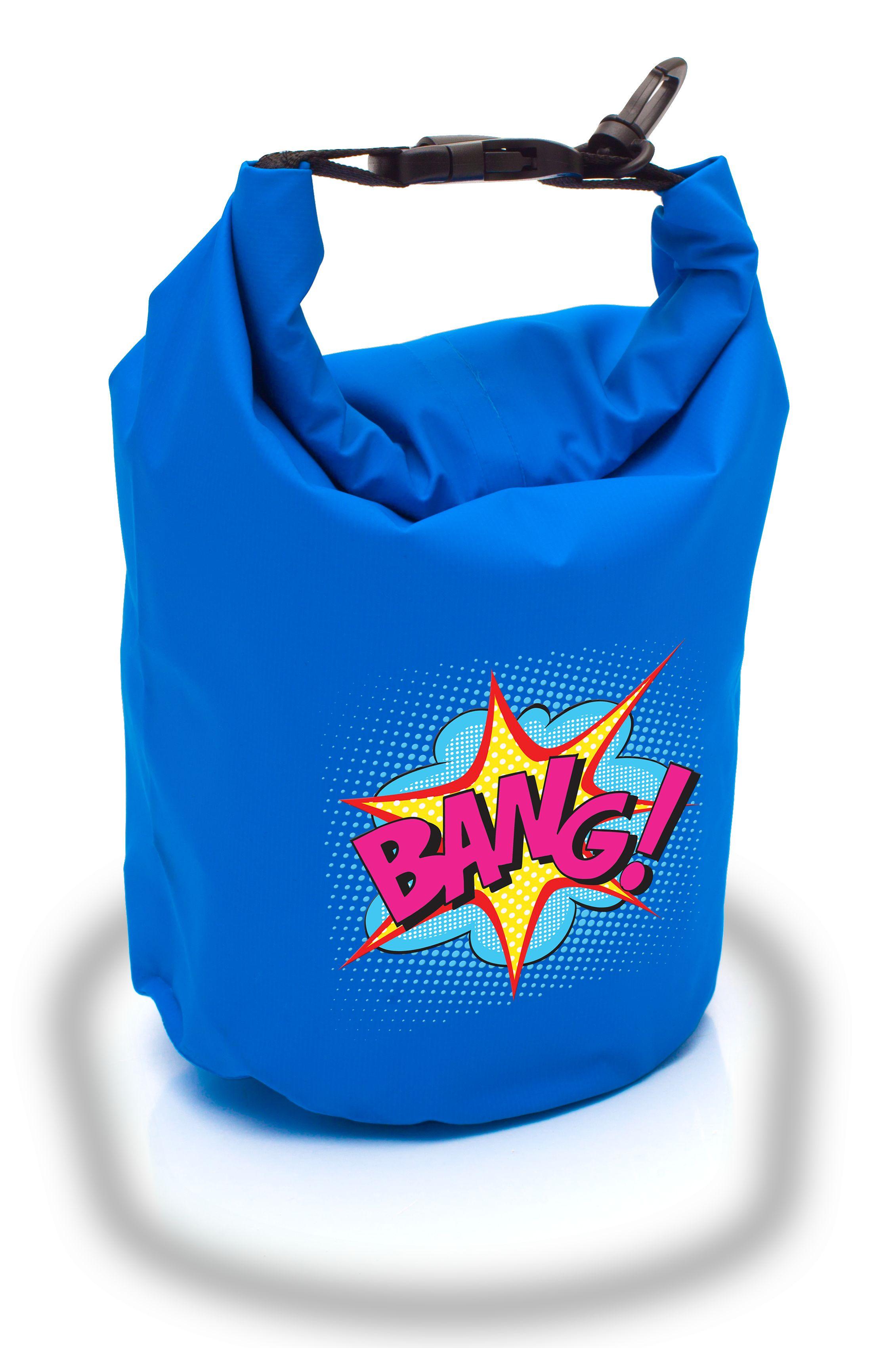 Silk screen - DRY INSIDE waterproof bag