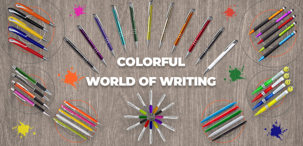 Colorful World of Writing