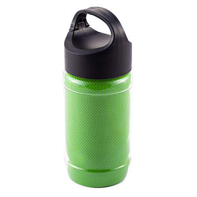 FEEL COOL sports bottle with refreshing towel