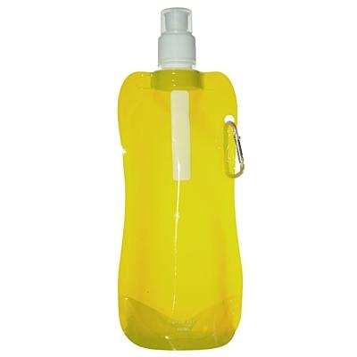 EXTRA FLAT folding sports bottle 480 ml