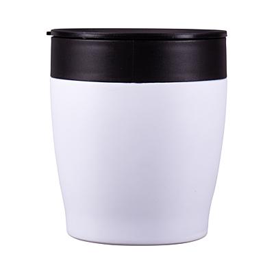 CHILLOUT steel mug 350 ml, white