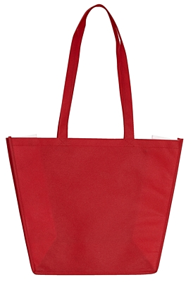 SHOPPING shopping and beach bag made of nonwoven fabric