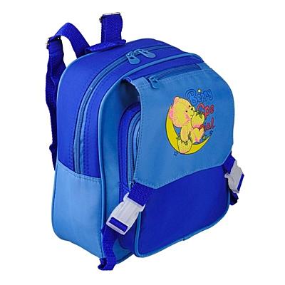 TEDDY KID baby backpack,  blue