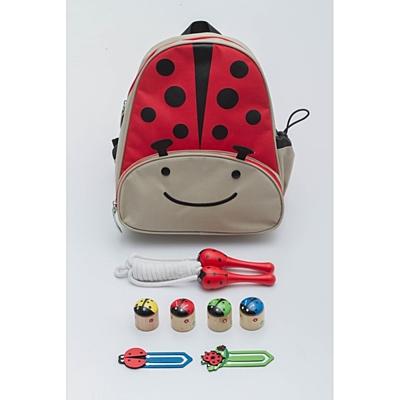 HAPPY LADYBIRD baby backpack,  multicolor