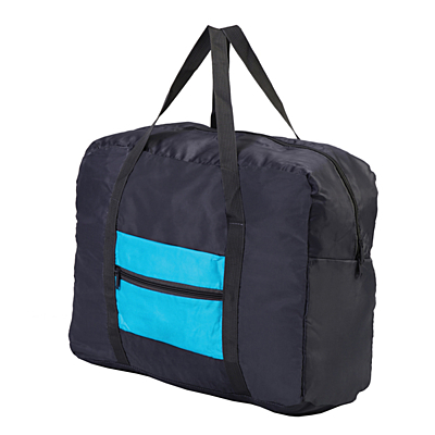 ANSONIA folding travel bag,  blue