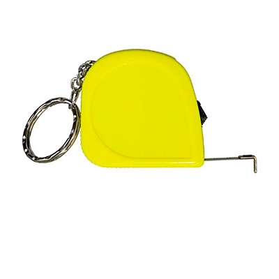JUST key ring with tape measure 2 m