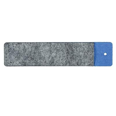 FELT pen case, blue/grey