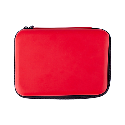CAR SAFE first aid kit for car, red