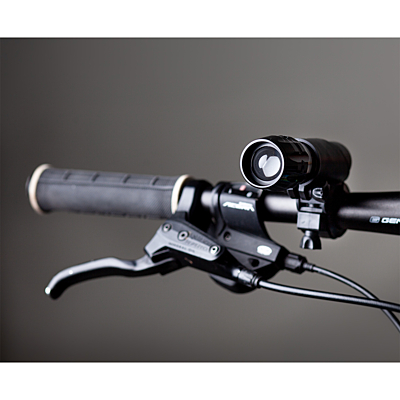 WHEELS ALIGHT bike torch, black