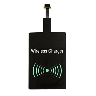 CHARGE READY wireless charging adapter,  black