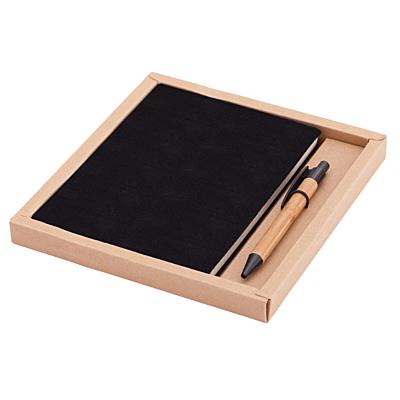 PORTO NOTE set of scrapbook and ballpoint pen