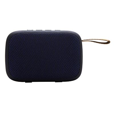 MUSIC PLUNGE speaker with FM radio,  blue
