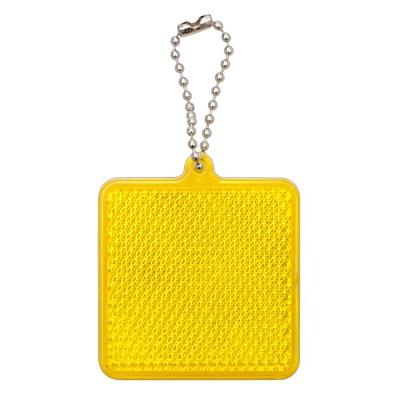 SQUARE REFLECT key ring