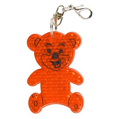 TEDDY RING reflective key ring
