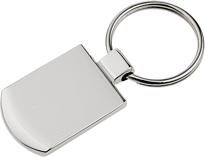 STARK metal key ring,  silver