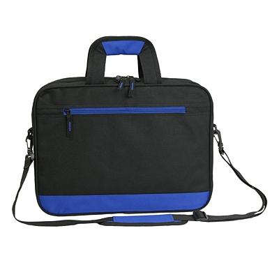 VITERBO document bag,  blue/black