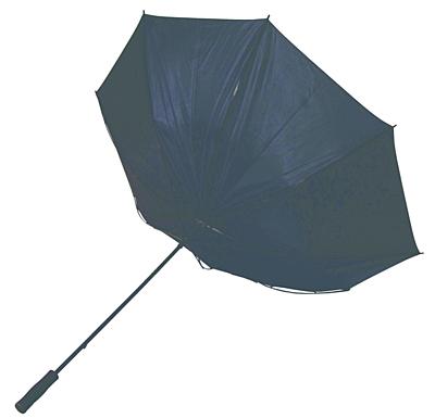 LUZERN golf umbrella,  black