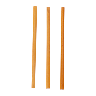 NATURE set of bamboo straws, brown