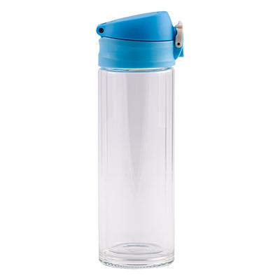 ABISKO glass bottle 280 ml, light blue