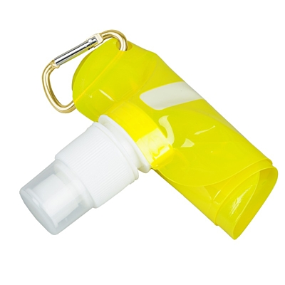 EXTRA FLAT folding sports bottle 480 ml