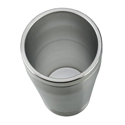 LANDSKRONA thermo mug 380 ml,  silver/black