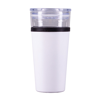 ALPENA thermo mug 400 ml, white