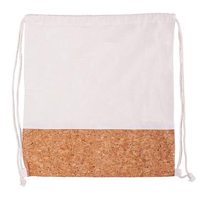 ALFENA cork backpack, beige