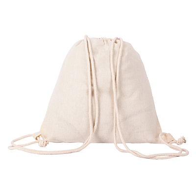 VOJENS backpack from cotton, beige