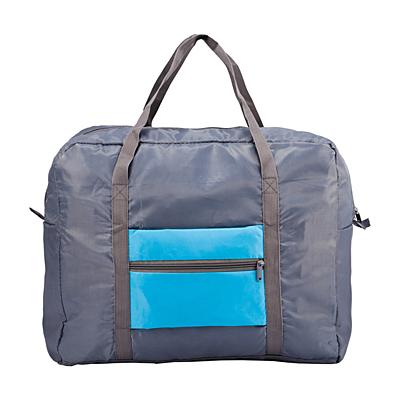 ANSONIA folding travel bag,  blue