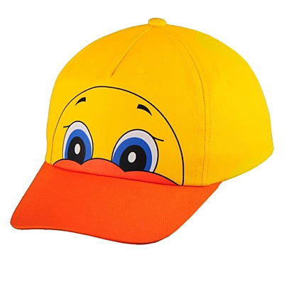 DUCKY cap,  yellow