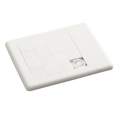 SENCILLO sliding puzzle,  white