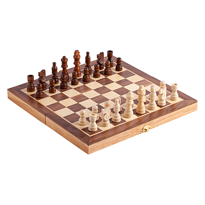CHESS game of chess, brown