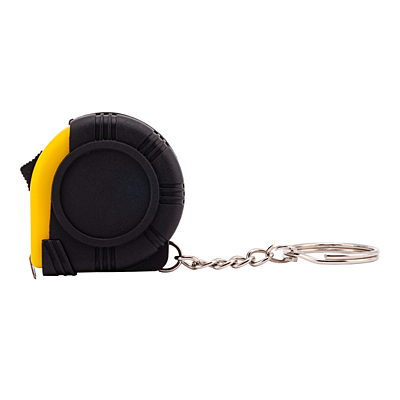EXACTO key ring with tape measure 1 m