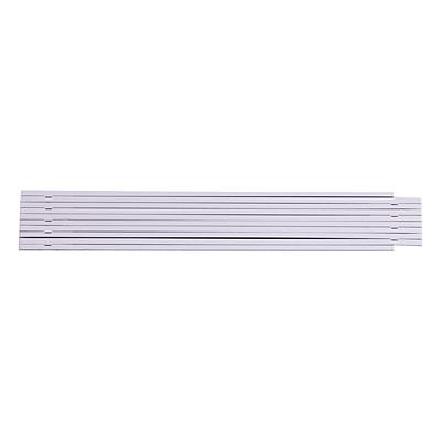 FOLD folding measure 2 m, white
