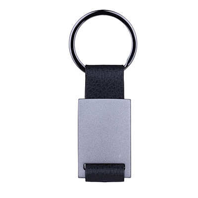 BUCKLE key ring,  graphite