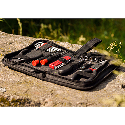 EXPAND tool set,  black/red