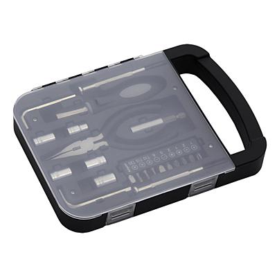 HEFTY tool set,  black