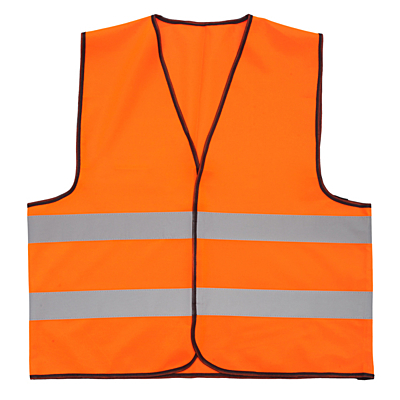VEST XL1 safety vest size XL,  orange