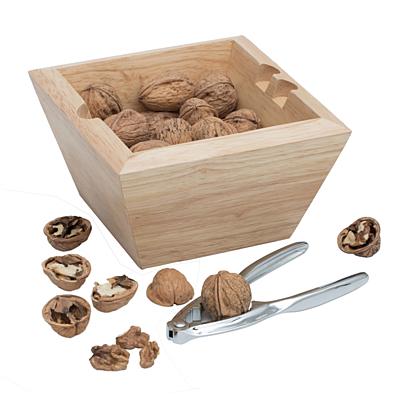 NUTCRACKER nutcracker with nuts,  beige