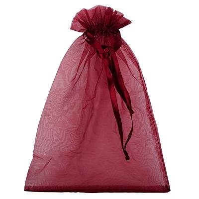 GIFT L gift bag,  maroon