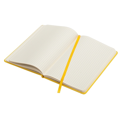 SHEEN notebook with squared pages 130x210 / 160 pages