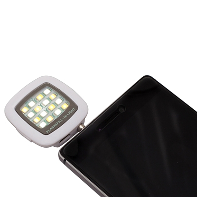 SELFIE FLASH flash to mobile phone,  white