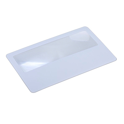 MAGNIFY CASE magnifying glass,  white