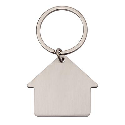 MI CASA metal key ring,  silver