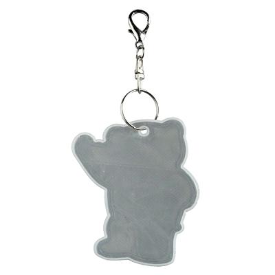 BEARY reflective key ring