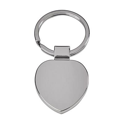 STOUT metal key ring,  silver