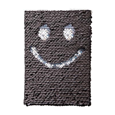 SEQUIN notebook,  black