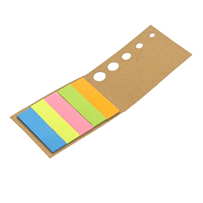 MEMO NATURE set of sticky notes,  brown
