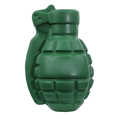 GRENADE antistress toy,  green