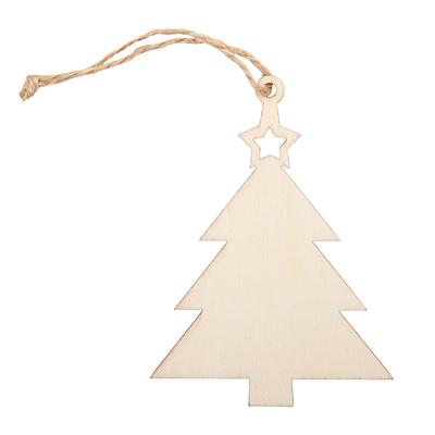 XMAS TREE decoration, beige